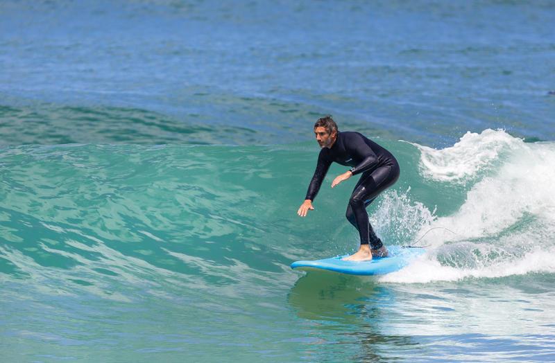 Traje SURF 100 Neopreno 2/2 mm Hombre Azul