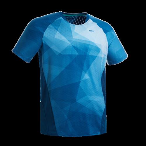 T-Shirt de badminton Homme 560 - Pétrole/Bleu