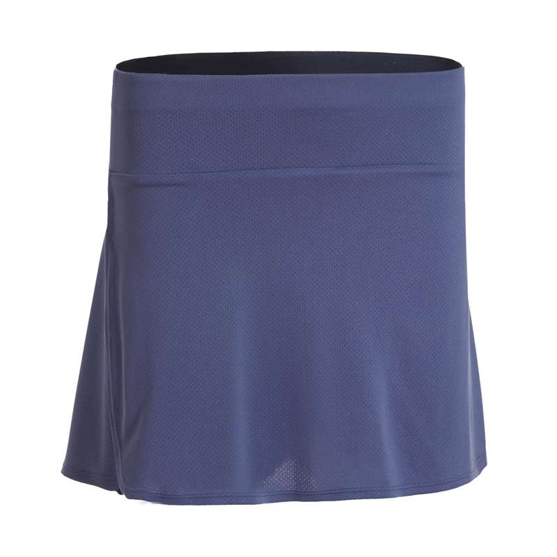 LADIES BADMINTON APPAREL - SUKNĚ 530 ŠEDÁ  PERFLY