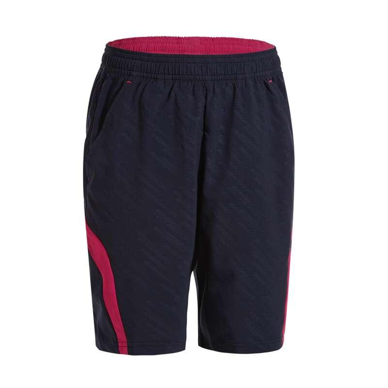 HABILLEMENT BADMINTON JR Racketsport - Shorts 560 Junior blå/rosa PERFLY - Badmintonkläder och Skor