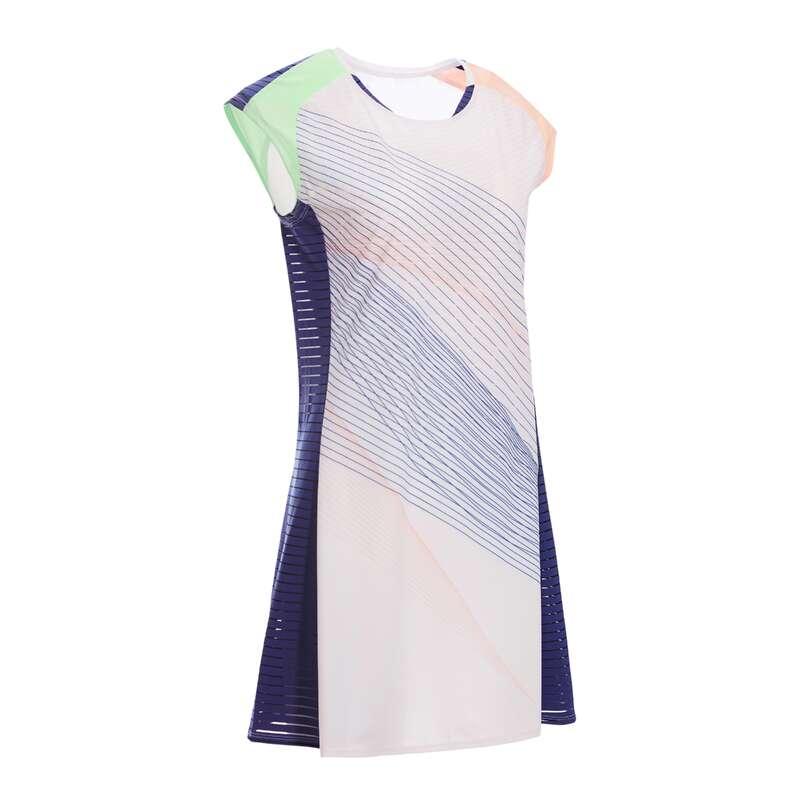 UBIÓR DO BADMINTONU DLA KOBIET ZAAWANSOWANI Badminton - Sukienka 900 różowa PERFLY - Buty, odzież, akcesoria do badmintona