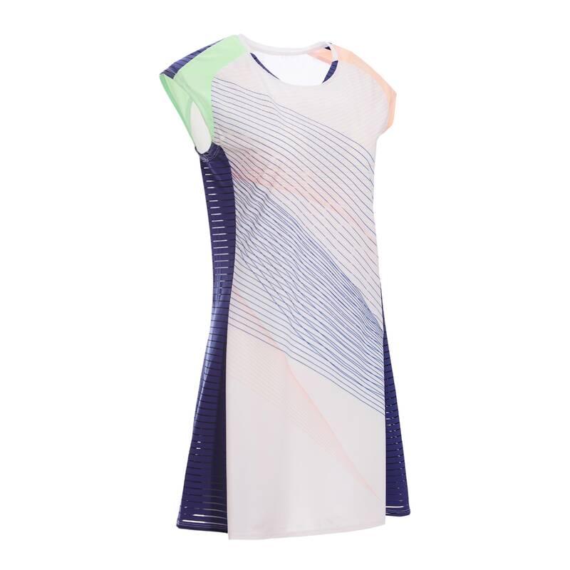 DÁMSKÉ OBLEČENÍ NA BADMINTON (ZKUŠENÉ) Dámské oblečení - ŠATY 900 RŮŽOVÉ  PERFLY - Dámské oblečení