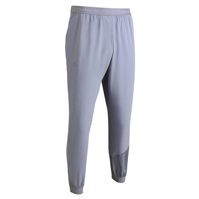 RUN DRY MEN'S RUNNING TROUSERS - GREY