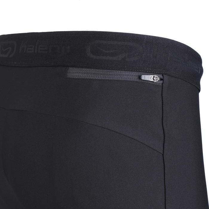 男款跑步緊身短褲RUN DRY+ - 黑色