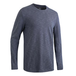 RUN DRY+ LS RUNNING T-SHIRT - GREY