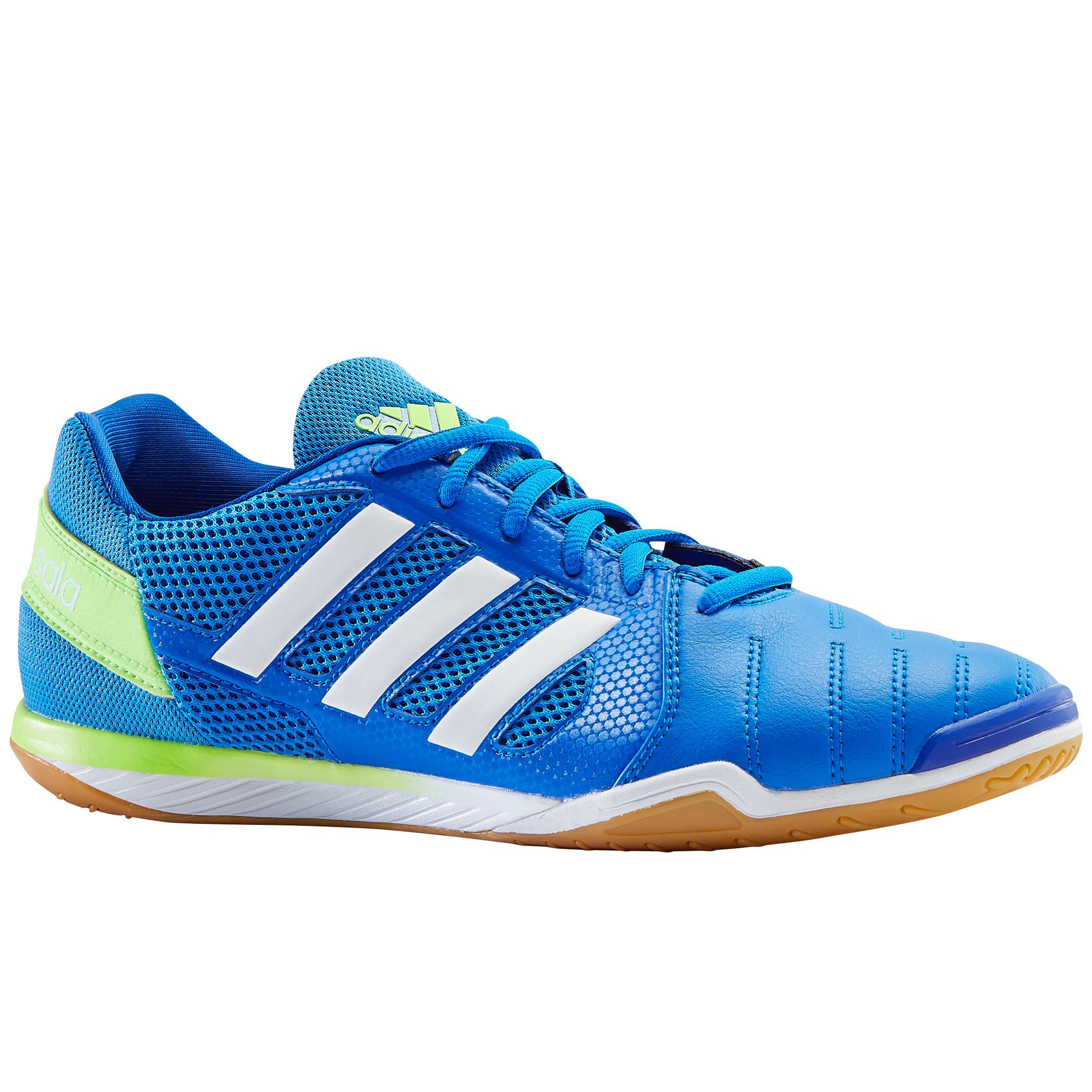Hallenschuhe Top Sala blau/grün   Schuhe > Sportschuhe > Hallenschuhe   Adidas