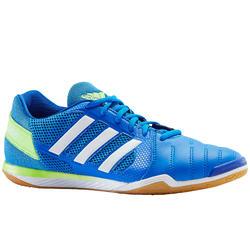Sapatilhas de Futsal Adulto Top Sala Azul/Verde