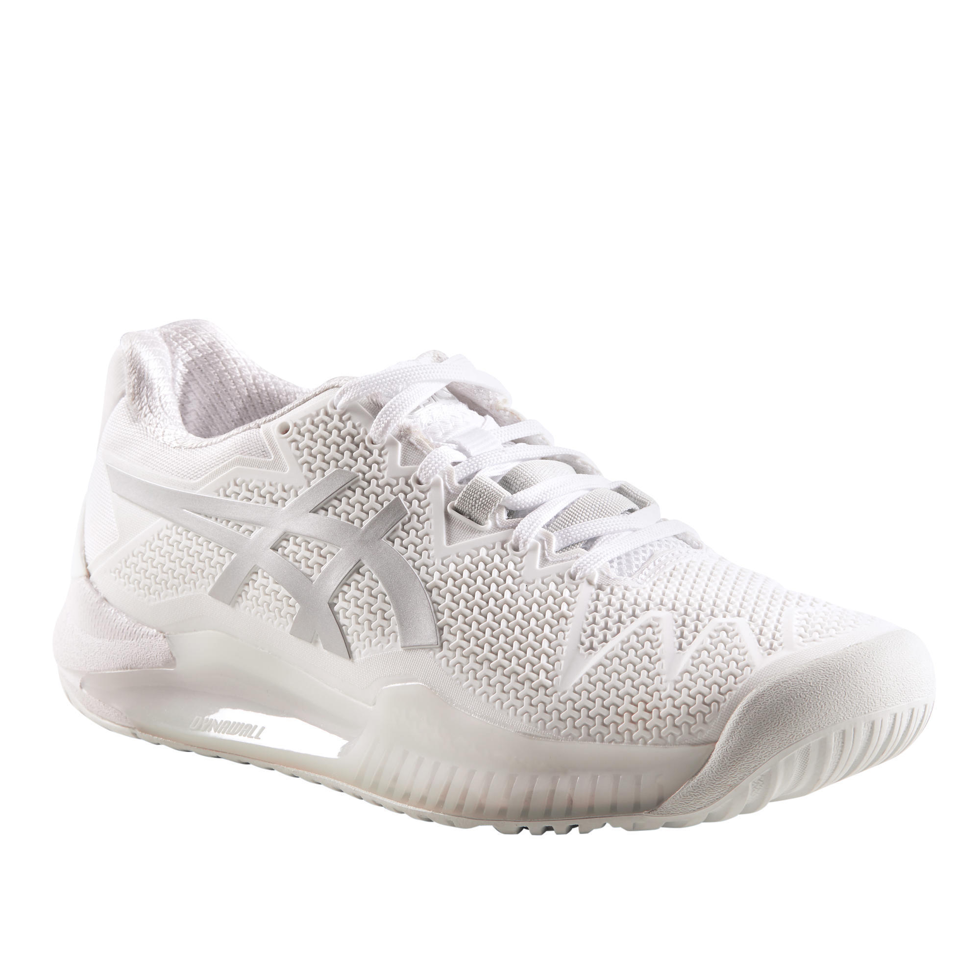asics gel resolution 7 femme blanche