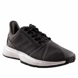 Tennisschoenen voor heren Courtjam Bounce grijs gravel