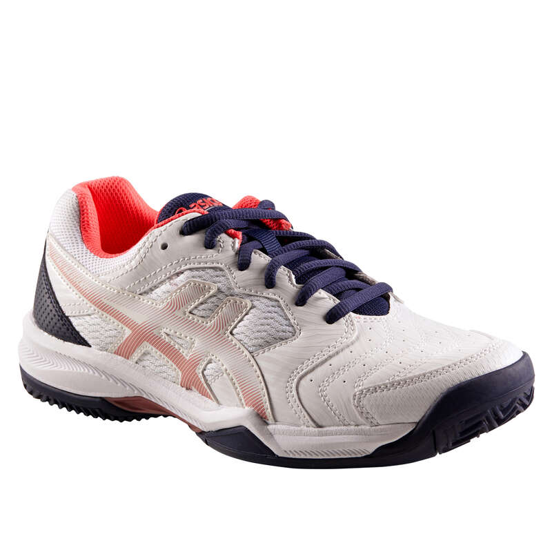 WOMEN CLAY COURT SHOES Tennis - Gel Dedicate Clay - White ASICS - Tennis Shoes