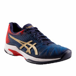 Tennisschoenen voor heren Gel-Solution Speed FF multicourt marineblauw