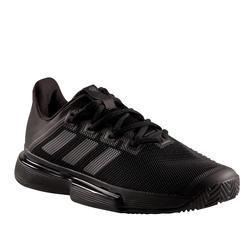 Tennisschoenen voor heren Adidas SoleMatch multicourt zwart