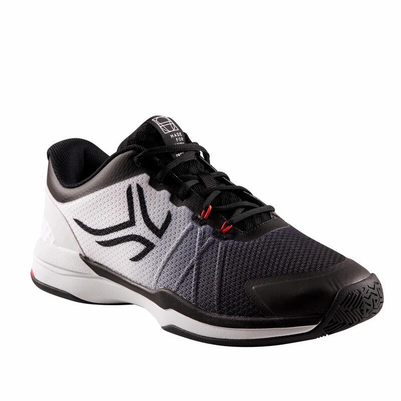 Pánské tenisové boty TS590 černo-bílé