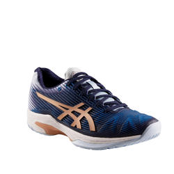 CHAUSSURES DE TENNIS FEMME Solution Speed Clay Bleue