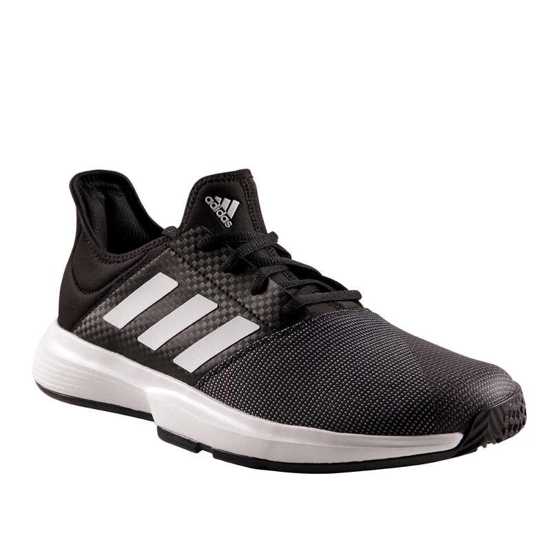MEN BEG/INTER MULTICOURT SHOES Tennis - Gamecourt - Black ADIDAS - Tennis Shoes
