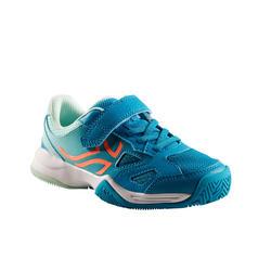 Tennisschoenen voor kinderen Artengo TS560 turquoise