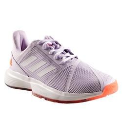 Tennisschoenen voor dames Adidas Courtjam Bounce paars