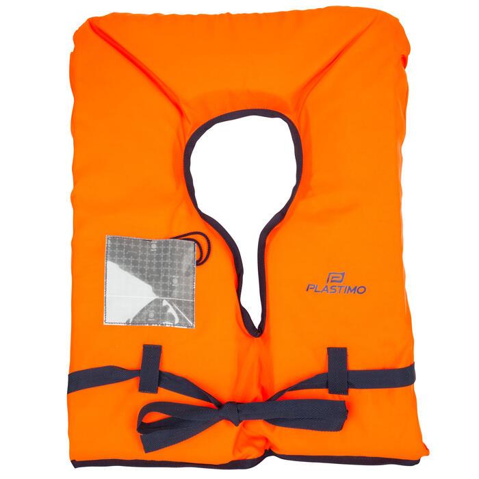 Brassière de sauvetage mousse adulte Storm 100N orange - 177829