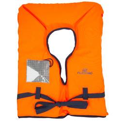 Chaleco Salvavidas Barco Vela Plastimo Storm 100N Adulto Naranja Espuma Cálido