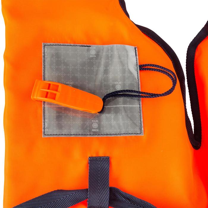 Brassière de sauvetage mousse adulte Storm 100N orange - 177832