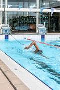 UTRUSTNING FÖR SIMNING Simning - Gummiband statisk simning 500 NABAIJI - Simning