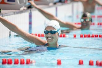Swimming comeback