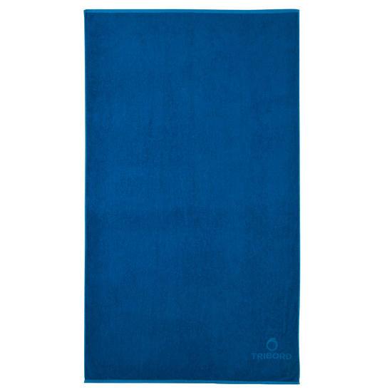 Handdoek Basic L Celtic blue 145x85 cm - 177861