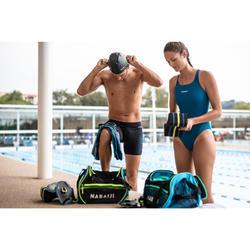 Zwemtas 500 30 l zwart groen