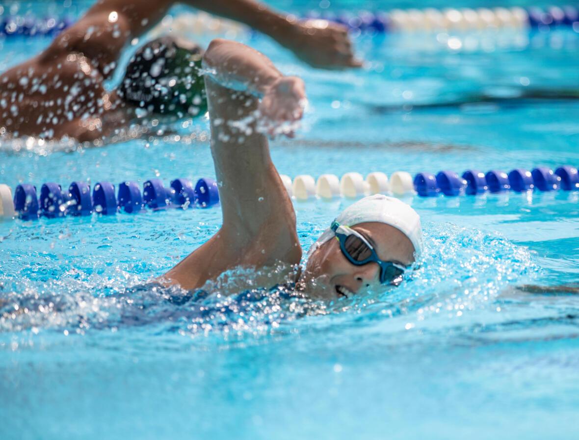 Le crawl : Meilleure nage pour dépenser le plus de calorie ?