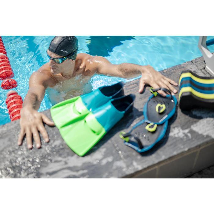 Pull buoy voor zwemmen 500 maat L zwart/geel