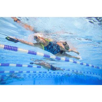 Schwimmpaddles Easystroke schwarz/gelb