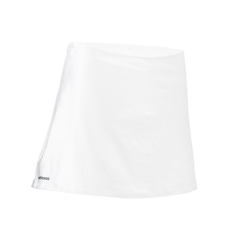 Falda de Tenis Artengo SK Dry 100 Mujer Blanco