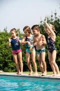PLAVKY PRO NEJMENŠÍ Plavání - PLAVKY PRO NEJMENŠÍ MODRÉ NABAIJI - Plavky do bazénu