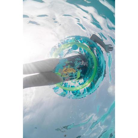 Bou e gonflable 65 cm transparente imprim e pour junior 6 - Maillot de bain transparent piscine ...