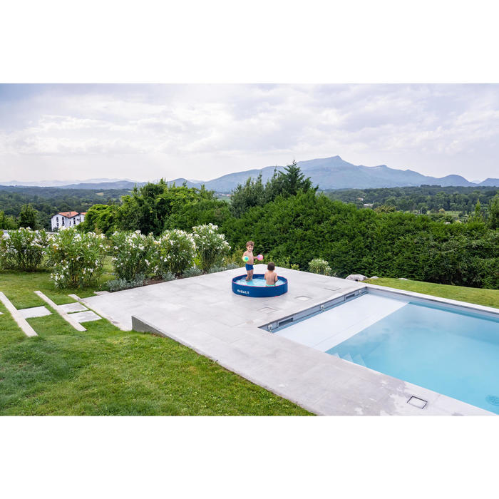 Petite piscine enfant TIDIPOOL+ bleue avec sac de transport