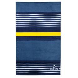 Handdoek Basic L print Rainbow Bluebird 145x85 cm