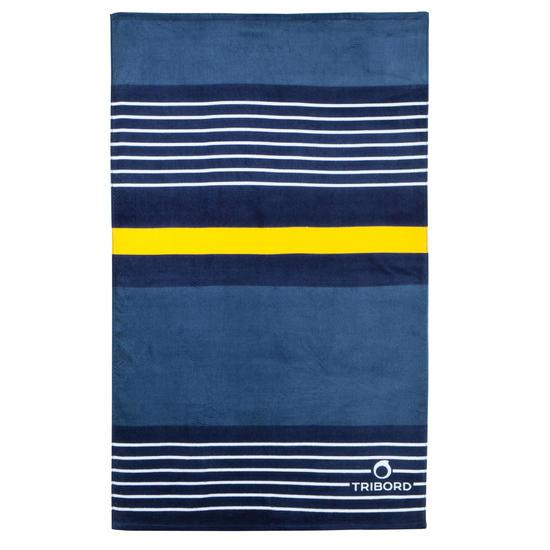 Handdoek Basic L print Rainbow Bluebird 145x85 cm - 177910