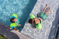 Maillot de bain bébé short vert imprimé