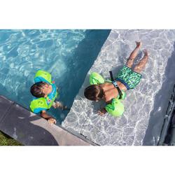 Short de bain bébé / enfant vert imprimé