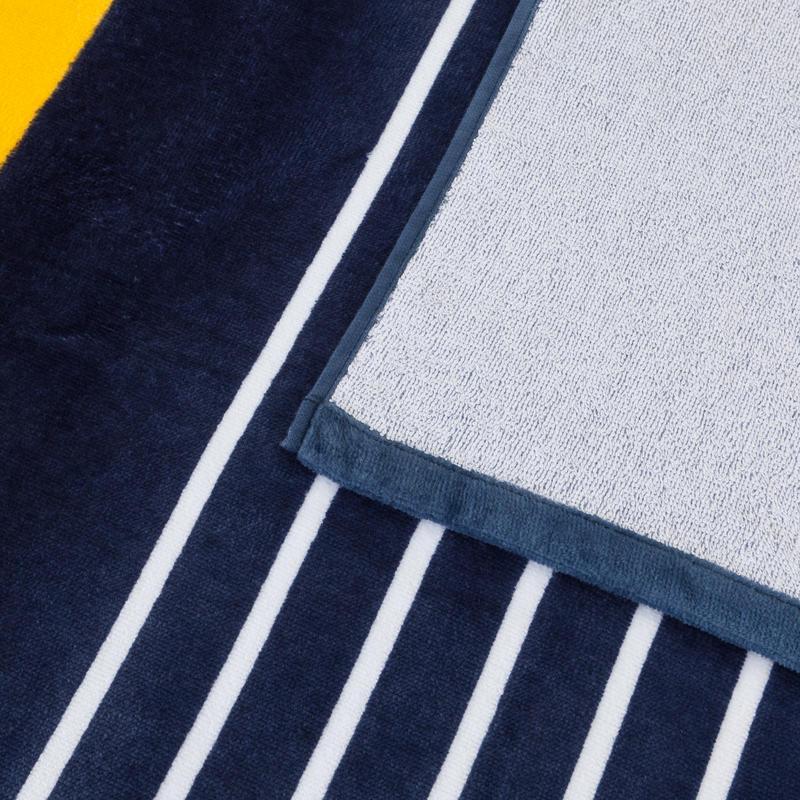 ผ้าขนหนูพิมพ์ลายรุ่น Basic (L) ขนาด 145x85 ซม. (สี Gold Fusion)
