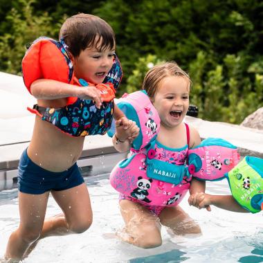 Der Schwimmflügel-Gurt Tiswim - Kombination aus Schwimmflügel & -gürtel