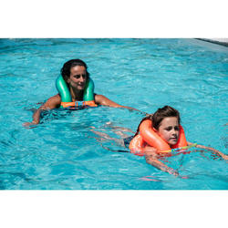 Opblaasbaar zwemvest maat M groen 50-75 kg