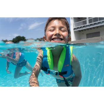 Zwemvest kind blauw/groen 15-25 kg