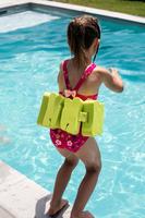 Ceinture de natation 15-60 kg avec pains de mousse verts