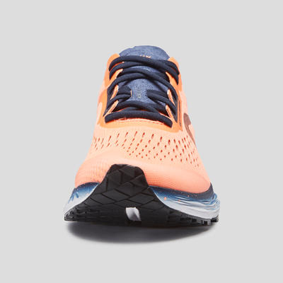 נעלי ריצה לנשים דגם KIPRUN KS LIGHT - קורל