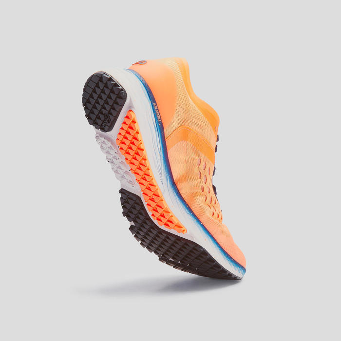 CHAUSSURE DE RUNNING FEMME KIPRUN KS LIGHT CORAIL