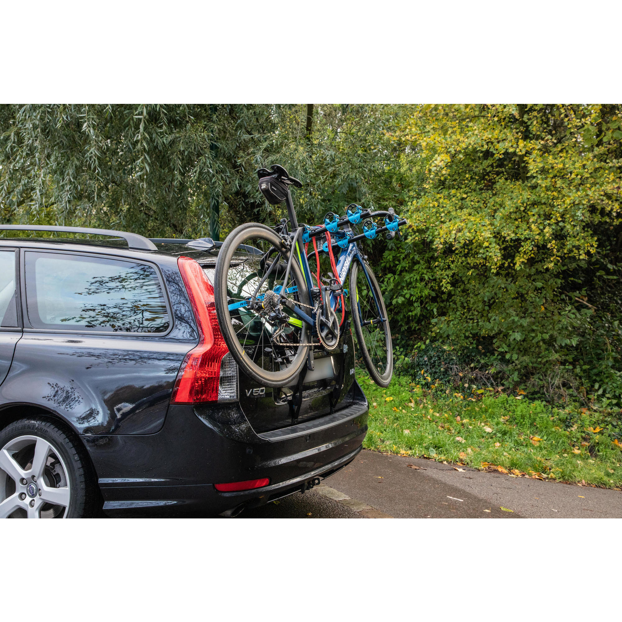 VW Tiguan II Année AB 2016 Porte-vélos sur hayon pour 3 vélos sur hayon