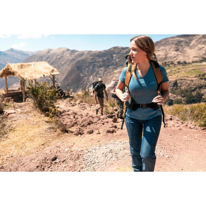 Comprar Pantalon Desmontable De Montana Y Trekking Quechua Travel100 Mujer Decathlon