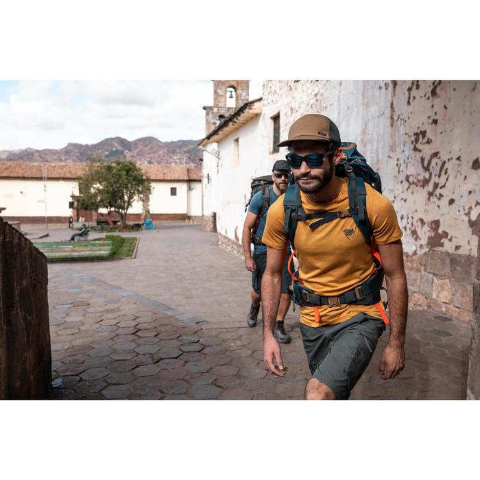 Casquette de Trekking voyage | TRAVEL 500 Compact camel