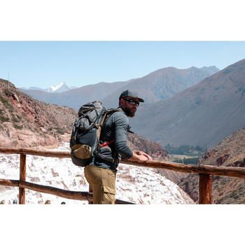 Pet voor backpacking Travel 500 donkergrijs